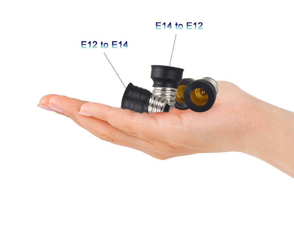 lamp holder base E27 to E14 B22 (15)