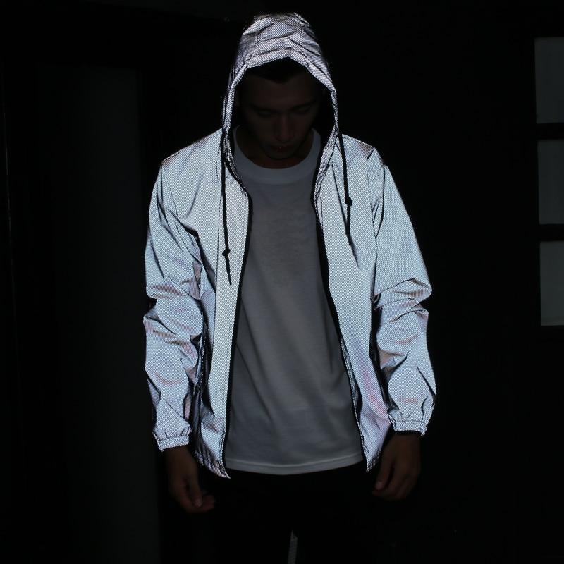 HTB1hmhKaIrrK1RjSspaq6AREXXaf 2019 new Funny Print Reflective Jacket Men/Women Brand Hooded Mens hoodie Coats Casual Night Fluorescen Windbreaker Veste Homme