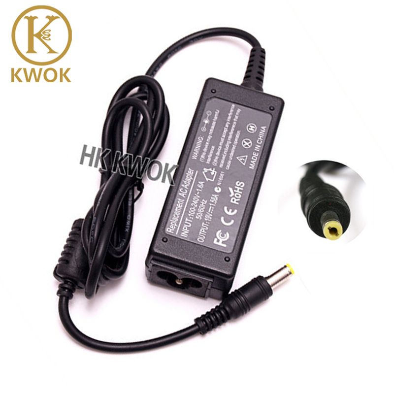 19 V 1.58A AC Adapter Oplader Voor Acer Aspire Voeding Lader Laptop Oplader Adapter Netbook Charger Cord 5.5 * 1.7mm