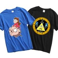 Gravity Falls t shirt Waddles Bill Cipher Men t shirt cotton short sleeve tops