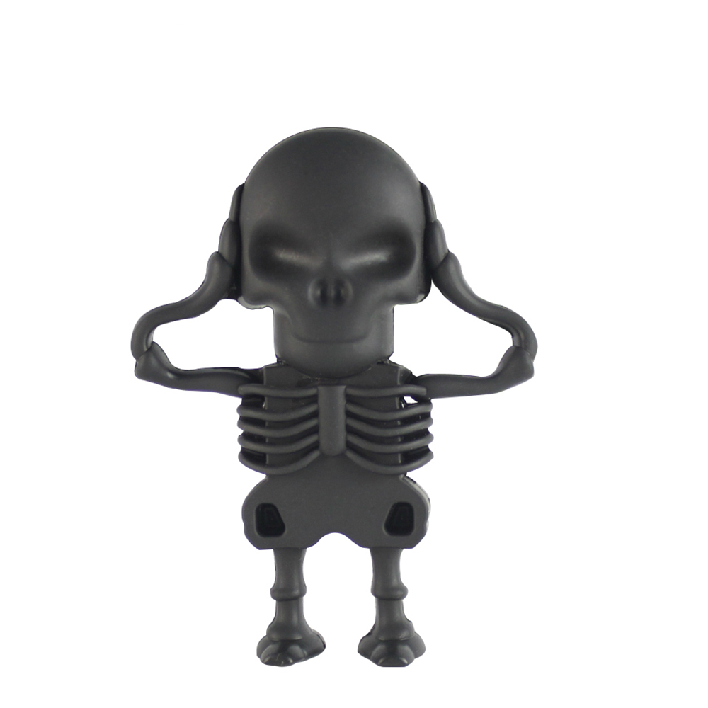 Fun Cartoon Skeleton PenDrive USB Flash Drive 64GB/8GB/16GB/32GB/4GB Cute Pen Drive Memory USB Stick Usb Flash Card Gift For Boy