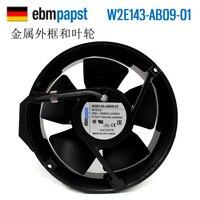 Новый ebmpapst ПАПСТ 172*51 230 В W2E143 AB09 01 осевой вентилятор охлаждения