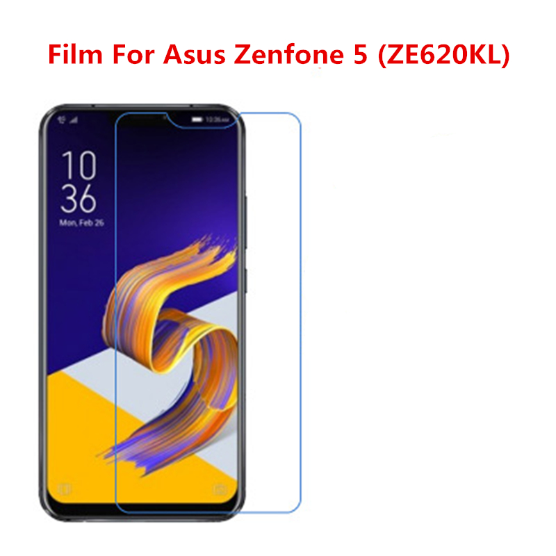 5 Pcs Ultra Thin Clear HD LCD Screen Guard Protector Film With Cleaning Cloth Film For Asus Zenfone 5 (ZE620KL).