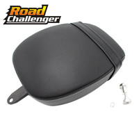Custom Motorcycle Seats Pads Cushion Passenger Pillion Saddle for Harley Sportster XL 883 1200 48 72 2004 2013