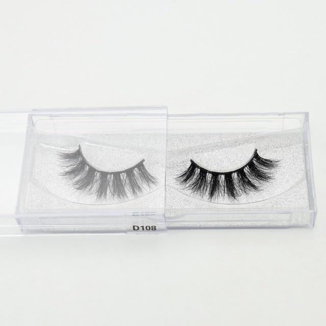 Visofree Eyelashes 3D Mink Lashes Luxury Hand Made Mink Eyelashes High Volume Cruelty Free Mink False Eyelashes Upper Lashes 4