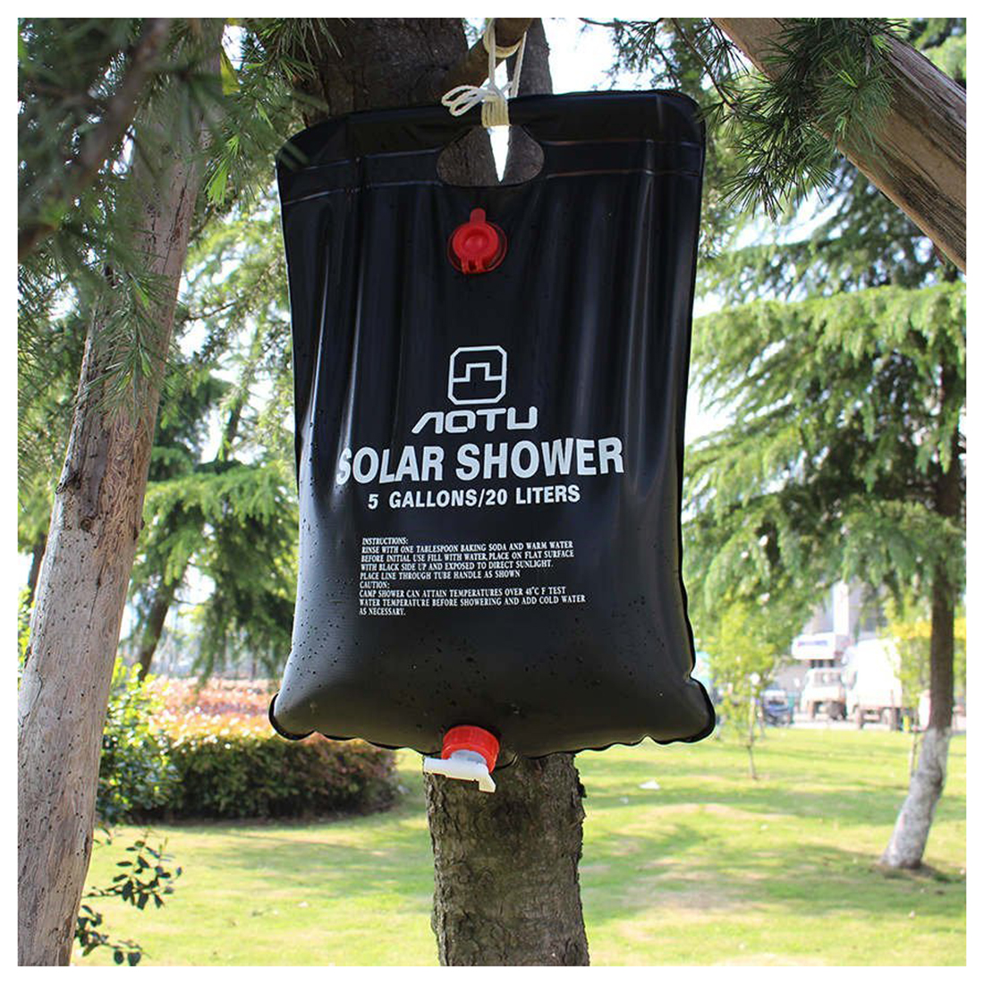 of snowys picture companion dlx outdoors shower solar