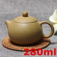Zisha Teapot Famous Kung Fu Tea Set Yixing Handmade Pot Cup Set 280ml Ceramic Chinese Top Quality Tea Ceremony Gift Packaging