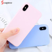 Mate 20 10 Pro Lite Case Matte Candy Cover for Huawei Honor 9 10 Lite 8X Play 8A Cases for Huawei Honor 8S 20 7A Pro 7C Bumper(China)