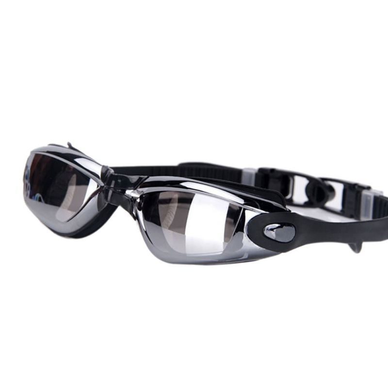 7825970370b Material  Polycarbonate lenses(Lens) + Silicone(Eye cup and eye band)  Goggles Size  Adjustable Lens  Silver plating. Package List  1 x Swimming  Goggles