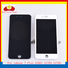 10Pcs/lot For iphone 7 Plus LCD Screen Pantalla monitor For iphone 7 Plus Display Touch Screen Digitizer LCD Complete Original цена и фото