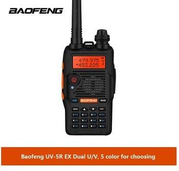 Baofeng UV-5R EX walkie talkie two way radio Hf Transceiver cb Radio Comunicador UV-5REX uv-5R Enhanced version - discount item  34% OFF Walkie Talkie