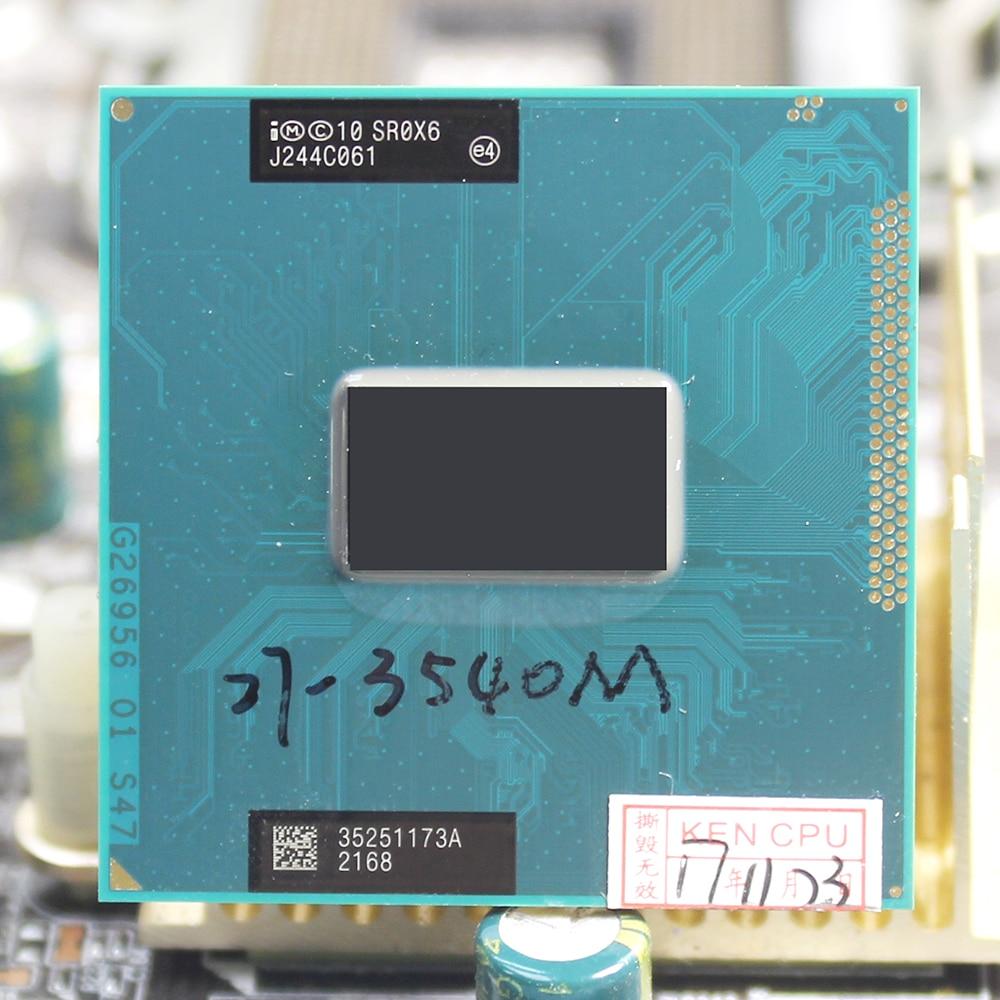 все цены на intel Core i7 3540M 3.0GHz 4M Socket G2 Dual Core SR0X6 3540 Laptop Notebook CPU PGA 988 pin онлайн