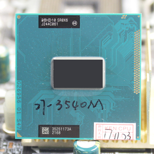 intel Core i7 3540M 3.0GHz 4M Socket G2 Dual Core SR0X6 3540 Laptop Notebook CPU PGA 988 pin