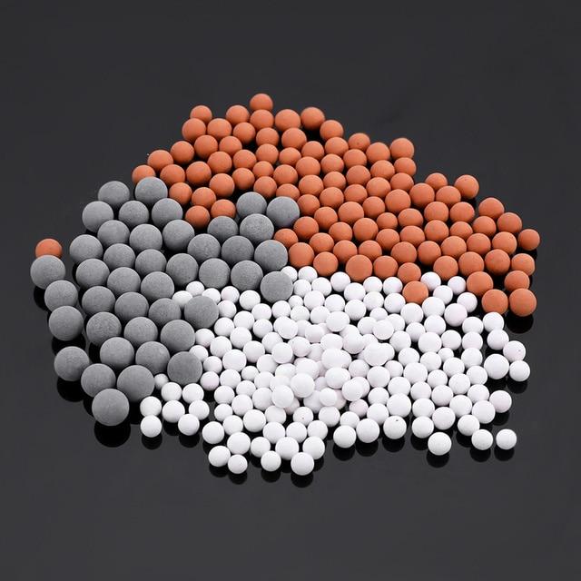 1 set/3 borse Sostituzione Doccia Testa Perline di Energia Bagno Filtro di Depur