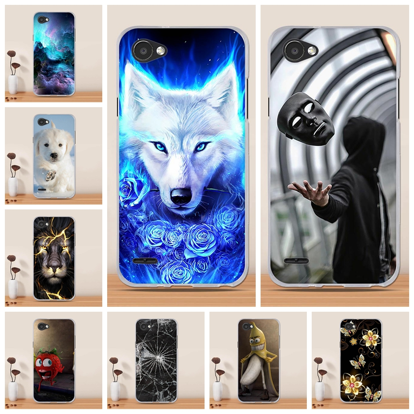 Phone Case For LG Q6 alpha Q6a Q 6 M700 Case Cover Funda Coque Capa Soft TPU Silicone Back Cover For LG Q6 Phone Case Cover