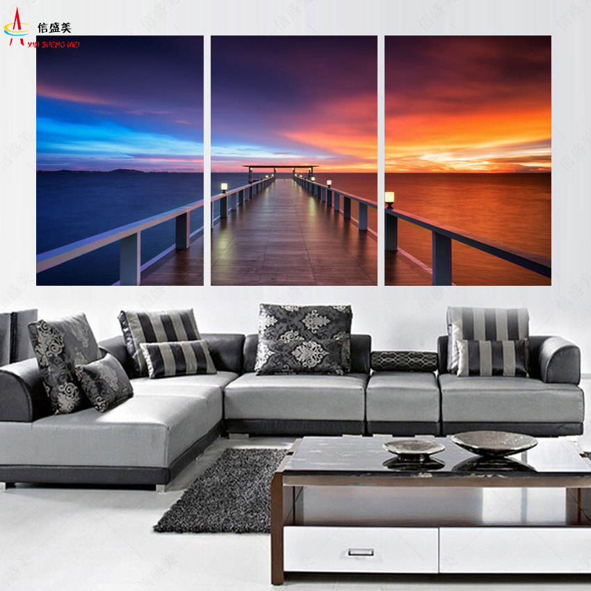 Home Decorators Coupon Code 2014: Home Decor Modern 3 Piece Canvas Art Wall Pictures For