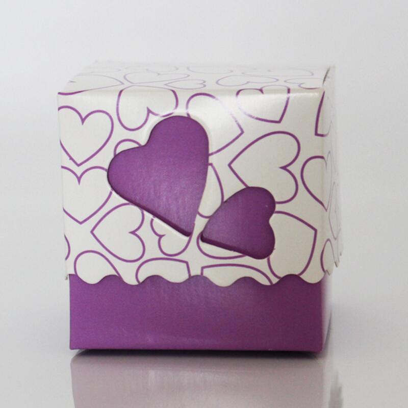 30pcs / pack romantična ljubav srce kutija bombona vjenčanje - Za blagdane i zabave - Foto 6