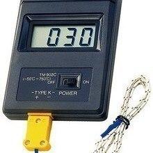 Бесплатный термометр с бесплатной доставкой TM902C десятичный датчик быстрого измерения температуры