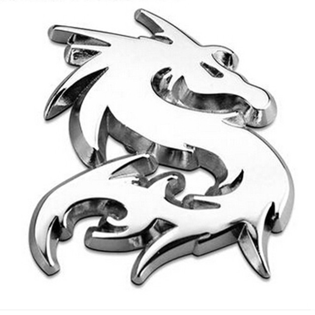 Chinese Dragon Pattern Is The Symbol Of 3d Metal Alloy Fmblem Badge