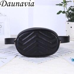 2019 New Bags for Women Pack Waist Bag Women Round Belt Bag Luxury Brand Leather Chest Handbag Beige New Fashion High Quality
