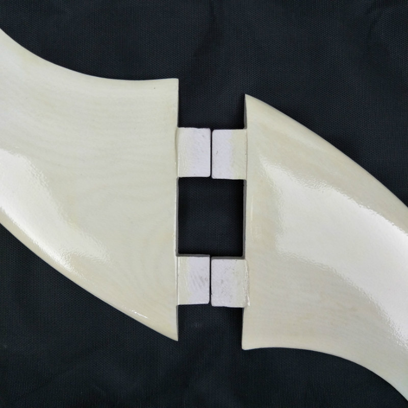 Surfboard FCS Fin light yellow Fiberglass Fins G5 High Quality Fin Free Shipping in Surfing from Sports Entertainment
