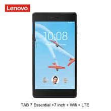 Lenovo 7 inch LTE 4G phone call 1G RAM 16G ROM quad core 64bit  android 7 tablet pc GPS 3450mAh wifi TB 7304N tb 7 essential MTK