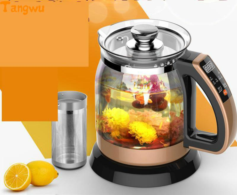 Multifunctional health pot kettle with thick glass automatic tea insulation Electric kettles free shipping new multifunctional health pot kettle with thick glass automatic tea insulation electric kettles