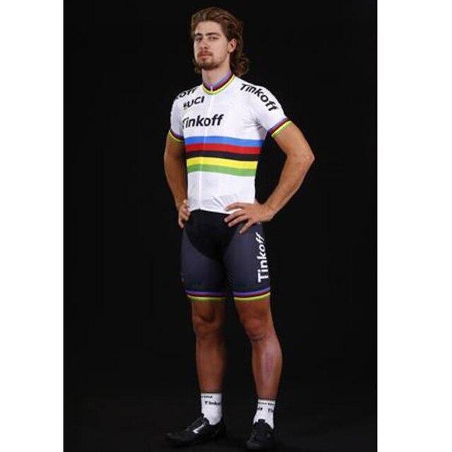 Cycling jersey 2016 tinkoff saxo bank peter sagan ropa ciclismo hombre  summer mtb bike cycling clothing short sleeve bicycle 0d8148ebb