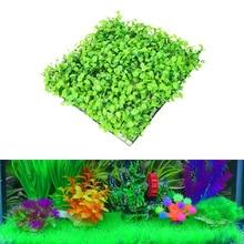 3 pcs/Set Artificial Green Grass for Aquarium Decor