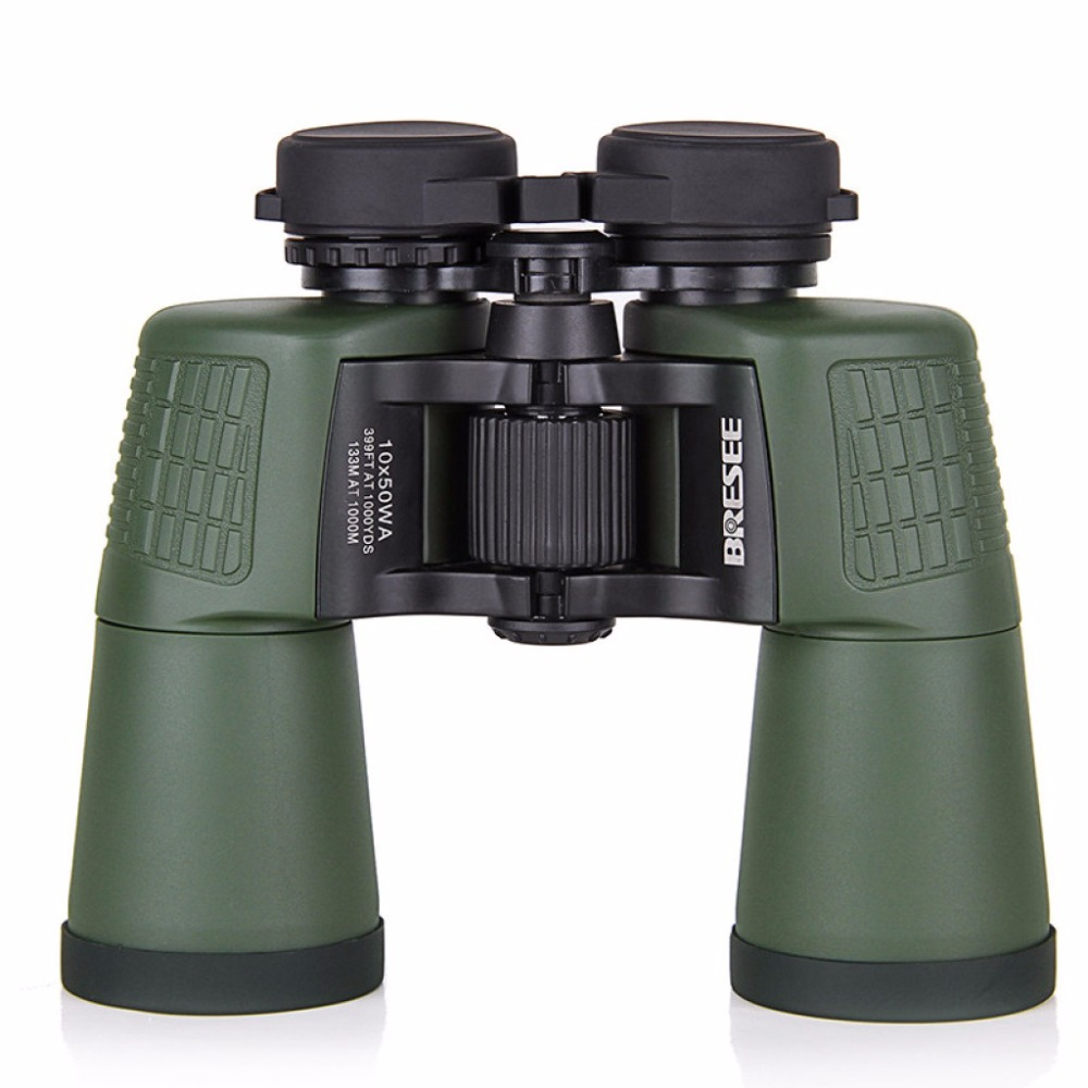 HD10X50 Army power zoom spyglass Binoculars professional telescope for hunting high quality telescope shokc hd10x50 professional hunting binoculars high quality optics bak4 telescope 384ft wide angle zoom no infrared eyepiece