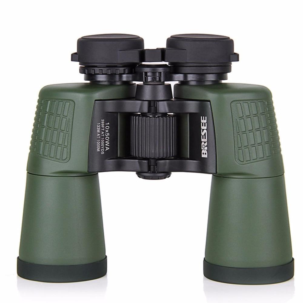 HD10X50 Army power zoom spyglass Binoculars professional telescope for hunting high quality telescope sika hd10x50 binoculars professional compact telescope bak4 for birdwatching travel stargazing hunting camping m0054
