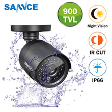 SANNCE 900TVL High resolution CCTV Camera IR Cut 24Led Hour Day/Night Vision IP66 Outdoor Bullet video Surveillance Camera