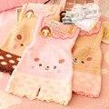 Princesa dulce lolita ropa interior japonesa suave oso de peluche gato warm doble engrosamiento ropa interior de cintura alta NK05