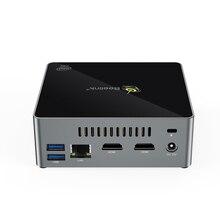 Beelink J34 CPU J3455 echtem windows10 mini pc 8GB SSD 128GB dual wifi bluetooth 4,0 unterstützung 2,5 HDD 1000M lan USB 3,0 pocket pc