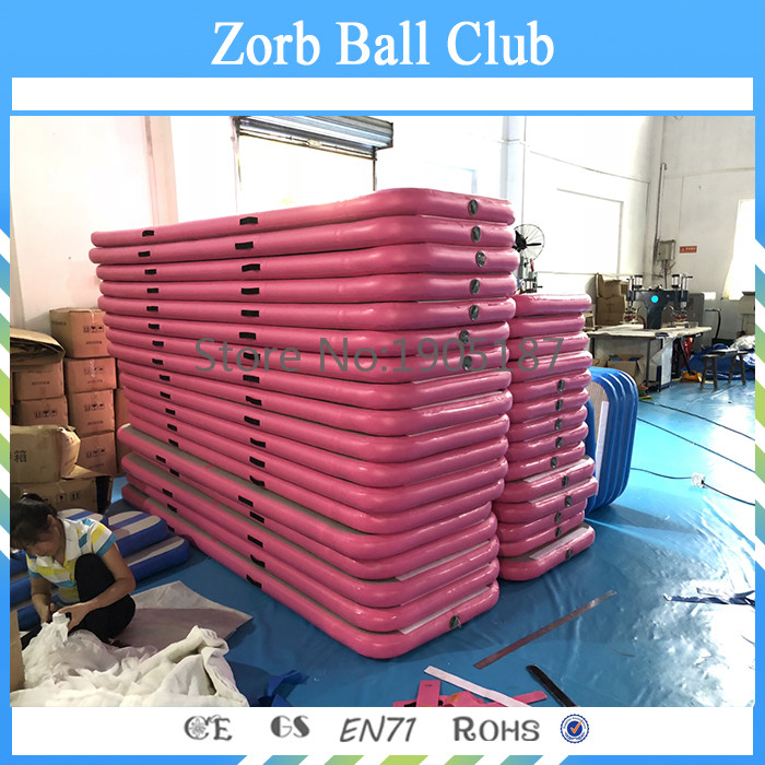 Free shipping outdoor and home use inflatable gym mat air track