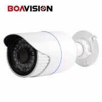 1 3 OV4689 Sensor Outdoor Bullet IP Camera POE 4MP 3MP With 36PCS Leds IR 20M