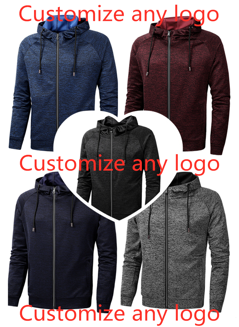 Men's Leisure Harajuku Hoodies Print Logos Hoody Spring Slim Male Patchwork Sweatshirts Man Hooded Sports Streetwear Top 8