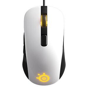 Image 2 - Nova marca steelseries rival 100 rato do jogo ratos usb com fio óptico 4000dpi mouse com prisma rgb iluminação para lol cs