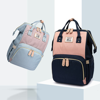New Fashion Multi-function Shoulder Macarons Mummy Bag Global Hot Candy Color Mother  and Baby Package