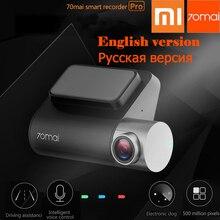 hot deal buy new smart xiaomi 70mai dash cam pro car dvr 1994p hd video recording g-sensor dash camera 140fov night vision gps car camera