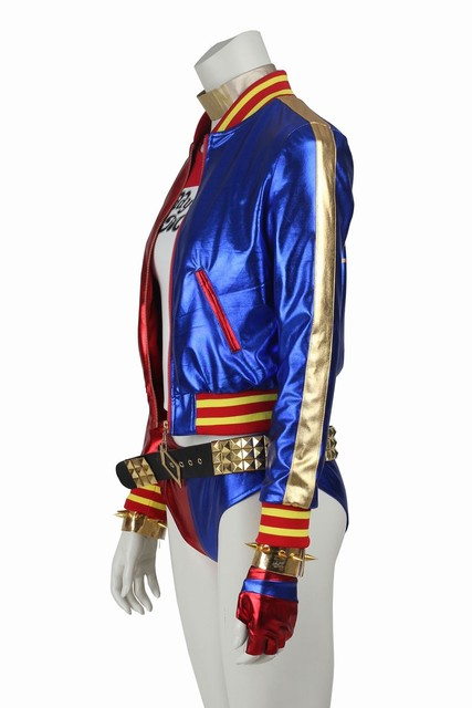 DC Comic Suicide Squad Harley Quinn Costume