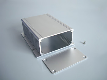 Aluminum shell enclosure with panel power shell electric box DIY 88*40*110mm NEW