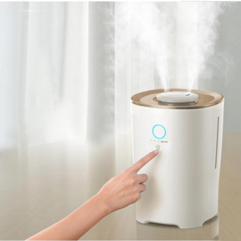 Household Air Humidifier Floor Humidifier Intelligent Constant Aromatherapy Humidifier 4L Large Capacity Humidifier JSQ-A40N3 household office intelligent mute humidifier aromatherapy large capacity spray