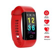 RAVI F07 Smart Watch IP68 Waterproof Heart Rate Blood Pressure Monitor Sleep Analyzer Sport Fitness Tracker Smart Bracelet Watch