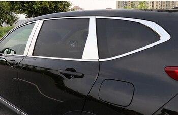 נירוסטה חיצוני חלון אדן מכסה Trims עבור honda crv 2012 2013 2014 2015 2016 2017 2018 cr-v רכב סטיילינג