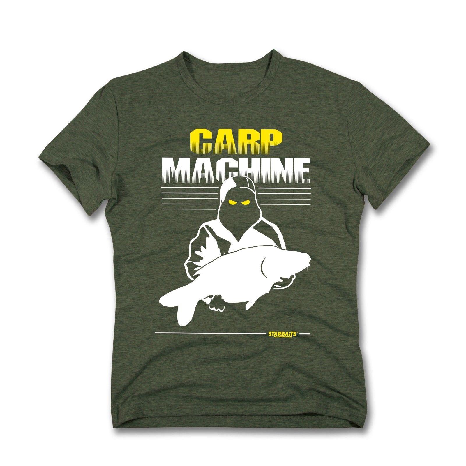 CARP MACHINE- CARP FISHING   T     SHIRT   -ALL SIZESCool Casual pride   t     shirt   men Unisex New Fashion tshirt Loose Size top ajax