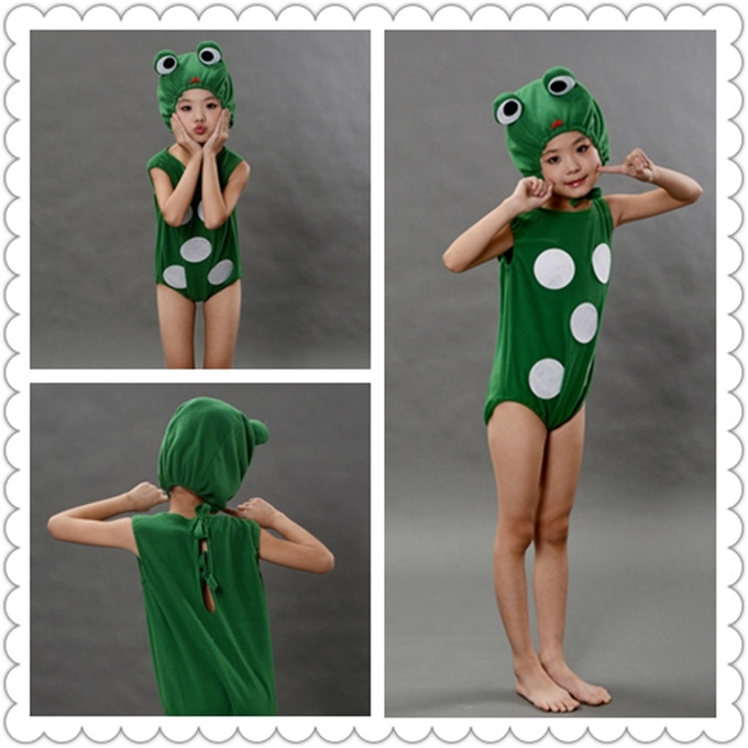 Funny kids FROG Costume  Animal  Cosplay Cloth Blow Up Fancy Dress Halloween Party Christmas Gifts