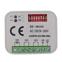 315mhz 433 Mhz 868mhz Wireless Remote Control Switch DC AC 9-30V 2CH Relay Receiver