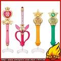 ПРОДАЖА Оригинал Bandai Sailor Moon Crystal Gashapon 20-летие Сейлор Мун Жезл Шарм Часть 2 Henshin Стержень & Стик Набор