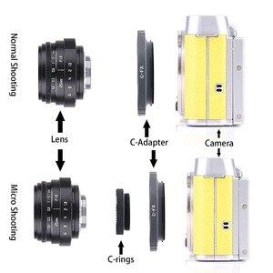 Image 5 - 35mm F1.6 CCTV Lens For Olympus EM10 EM5 EM1 OM D E M1 E M5 E M10 IV III II PEN F E P5 E P3 E P2 E P1 E PL10 E PL9 E PL8 E PL7
